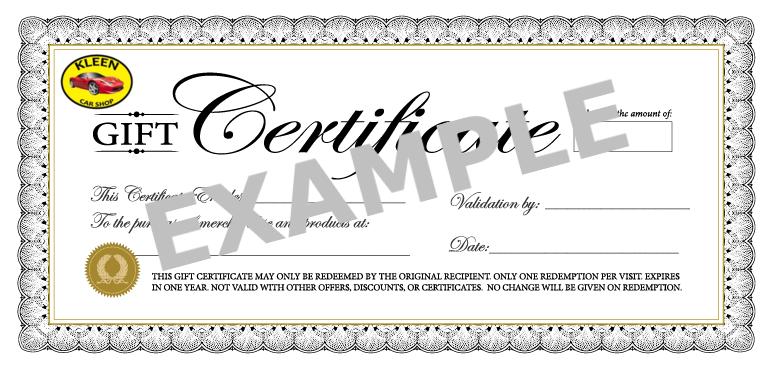 kleen-car-shop-gift-certificate